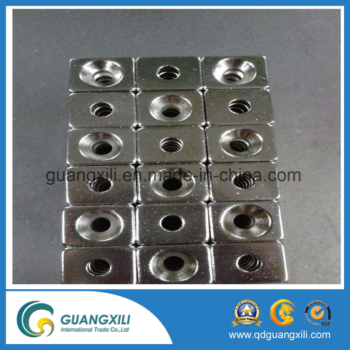 N42 Strong Rare Earth Permanent Neodymium Magnets