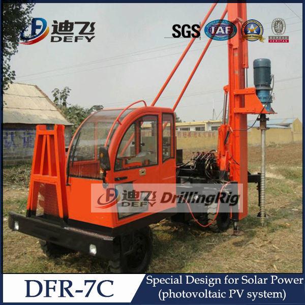 Crawler Mounted Diesel PV Pile Hammer