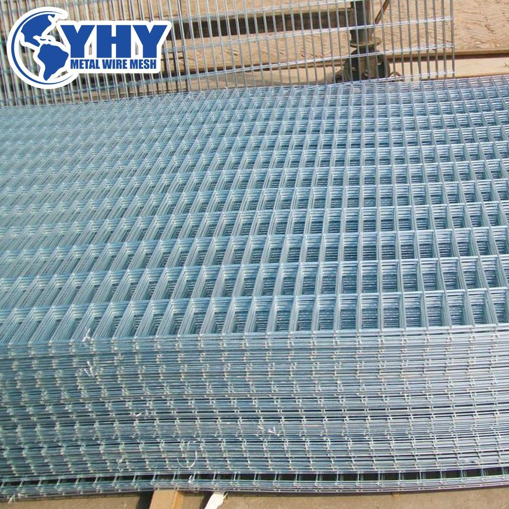 China 6 Gauge 4X4 Inch Galvanized Welded Wire Mesh Fence Sheet for ...