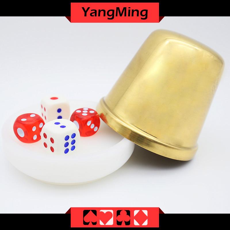 Unique Design Acrylic Dealer Button Plate Si Bo Poker Table Games Accessories (YM-DI01)