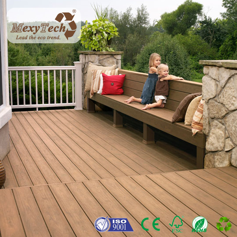 Modern Recycle Popular WPC Wood Plastic Composite for Floor