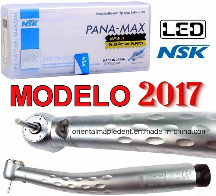 High Quality NSK Push Button Triple Water Spray Dental LED Handpiece