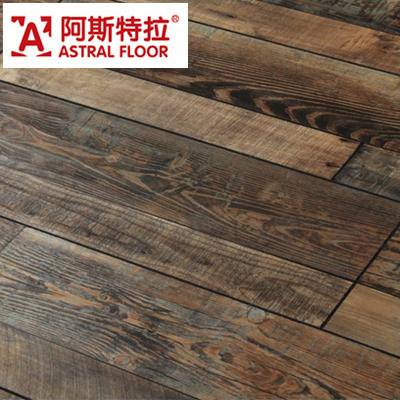 WPC German Technology 12mm/8mm HDF Handscraped Grain Laminate Flooring