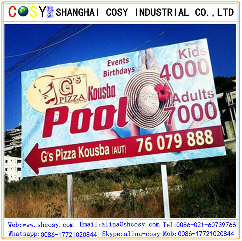 440GSM Glossy Frontlit PVC Flex Banner with High Quality
