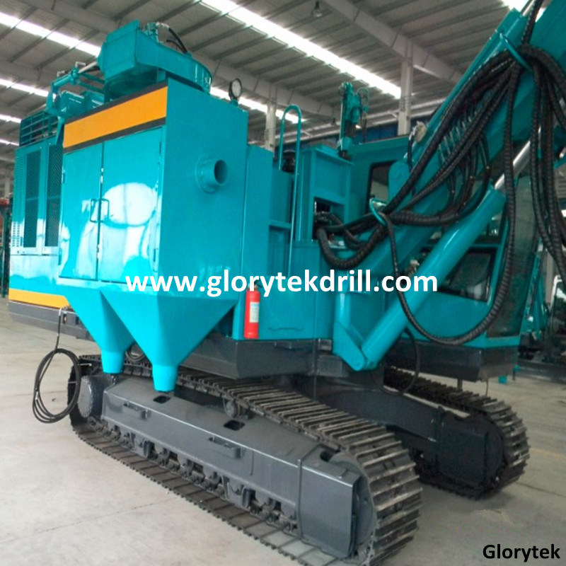 De120 Crawler Type Integrated Blast Hole Drilling Rig