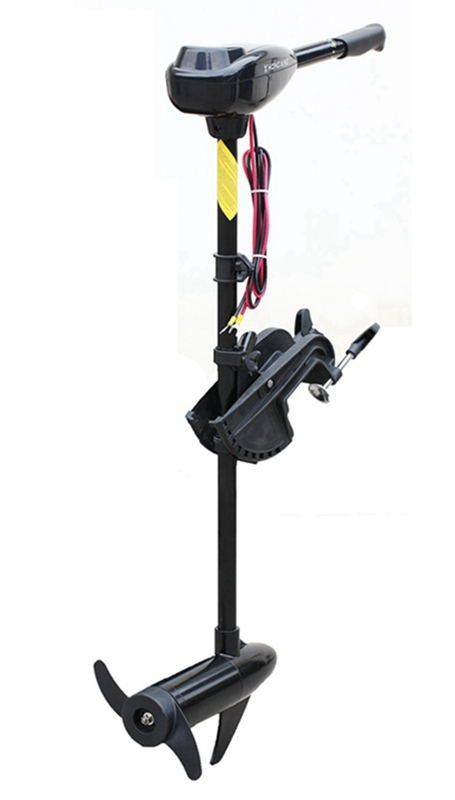 46lbs Electric Outboard Trolling Motor for Inflatable Boat, Kayak, Canoe