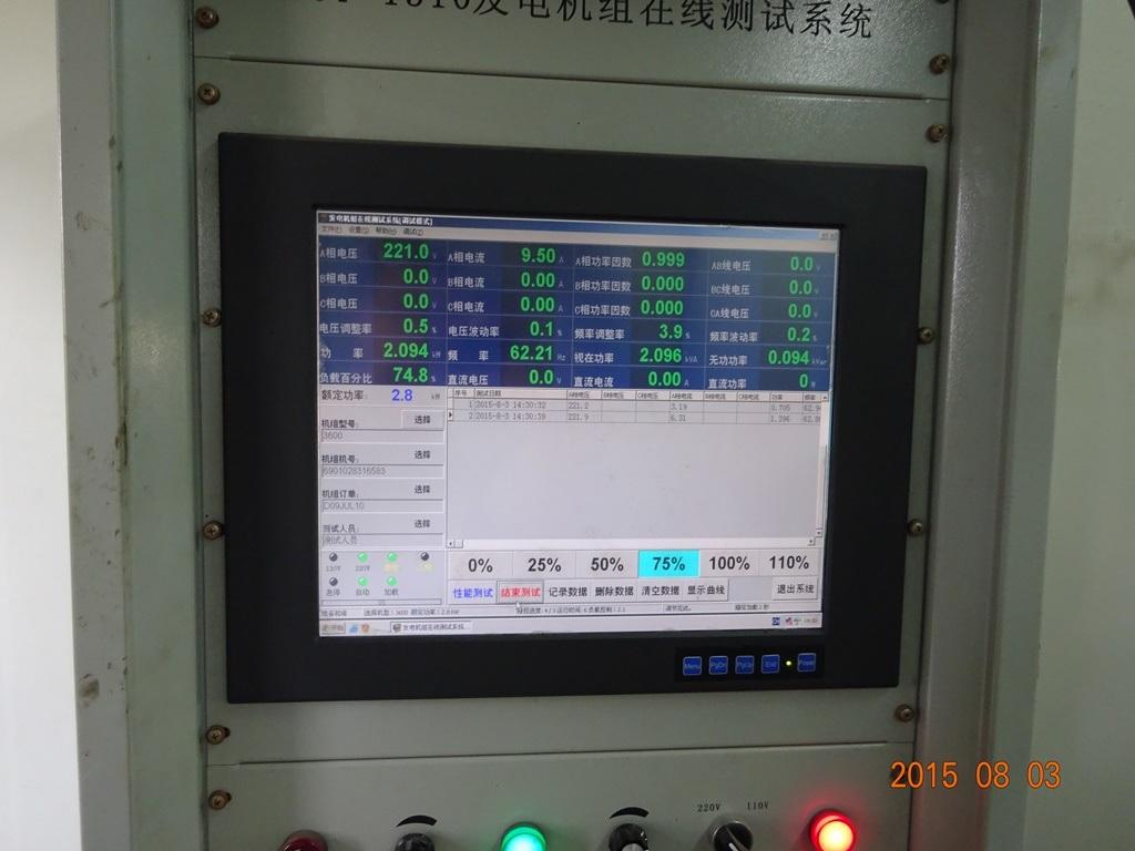 Fusinda 5.5kw Generator with Brush and AVR