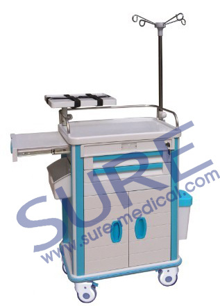CE Popular Good Quality Medical Trolley/Emergency/Anesthesia/Clinical Trolley