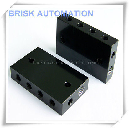 Aluminum Manifold with 2 Ports for Transfer Die