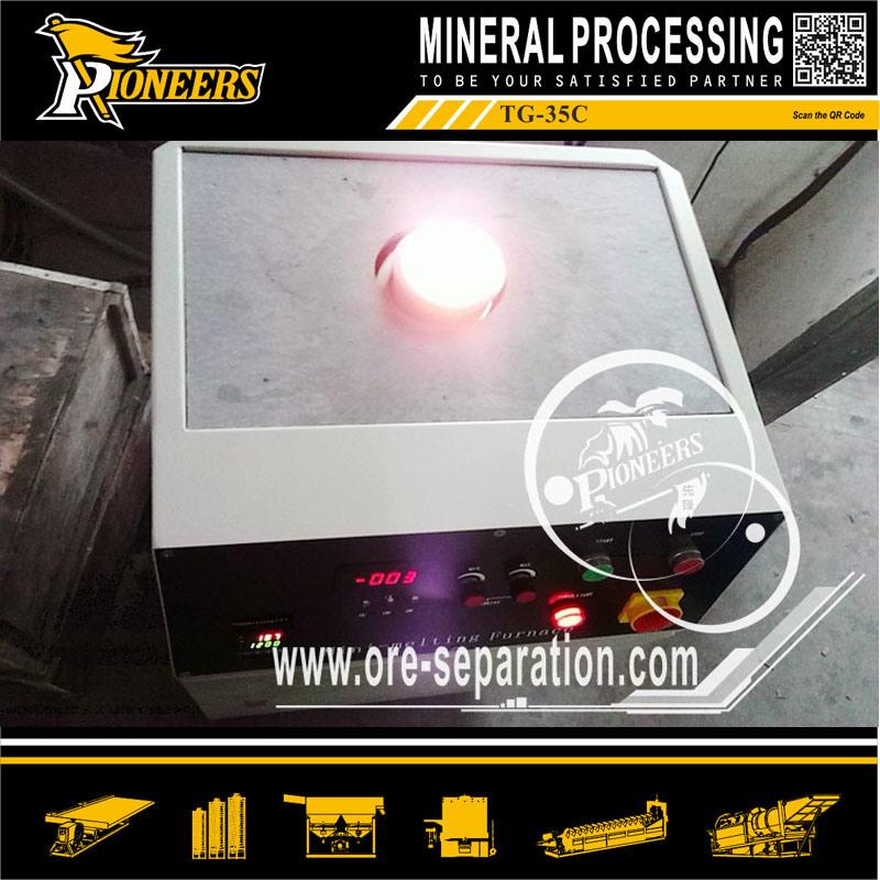 Platinum Smelter Silver Melting Copper Machine Molten Gold Smelting Furnace