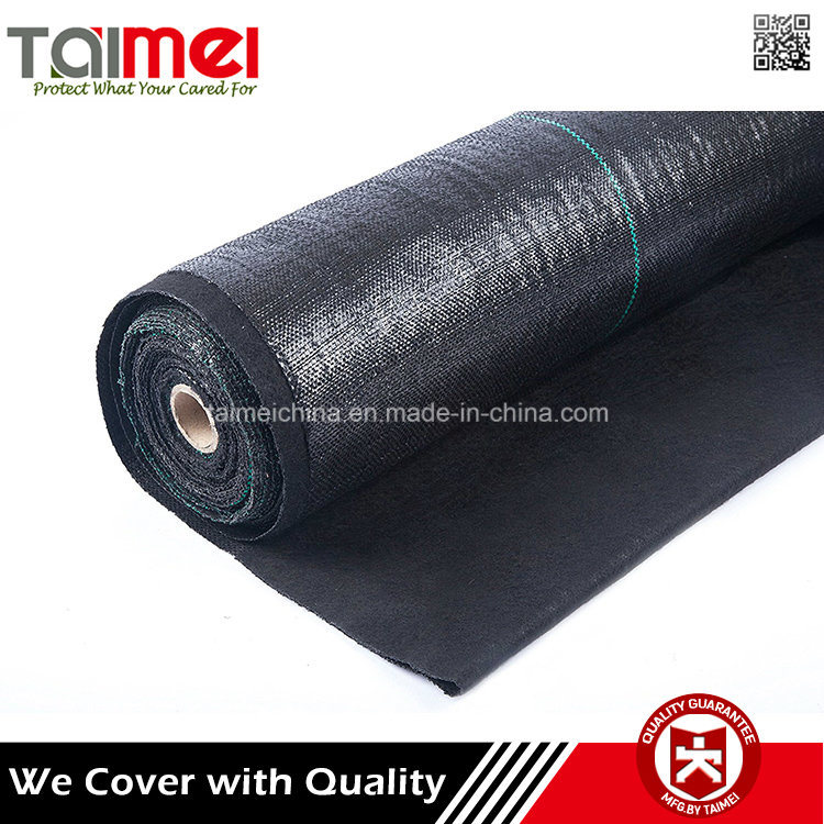 China PP Woven Fabric Weed Mat in Roll