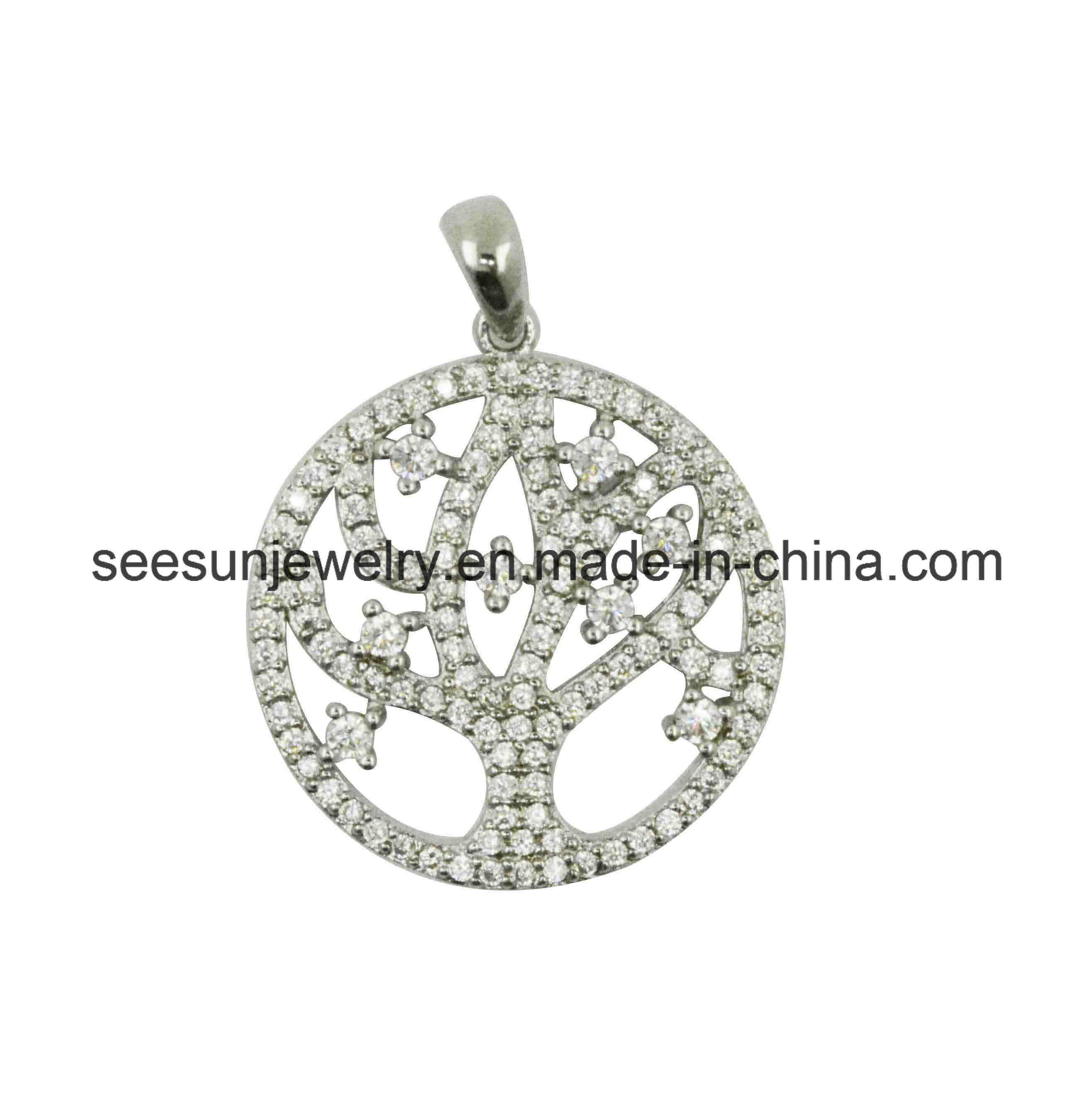 2016 Fashion Silver Jewelry Life of Tree Pendant