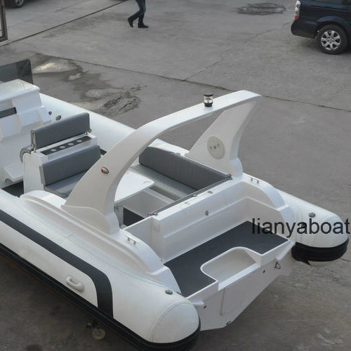 Liya 7.5m Fast Speed Boats Luxury Rib Boat with Motor