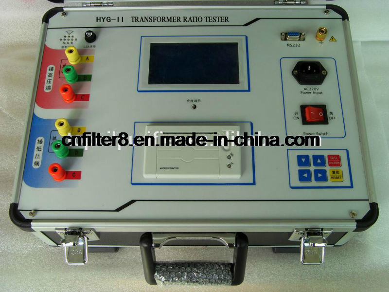Portable Transformer Turns Ratio Tester (HYG-II)