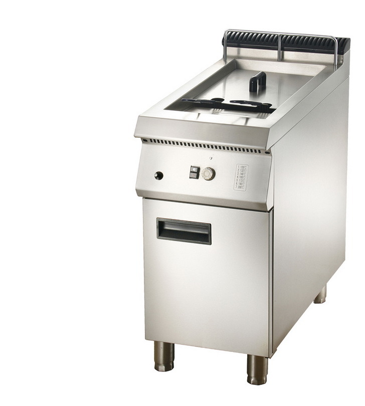 Gas 1-Tank Fryer with Cabinet (LGF-91C/71C)