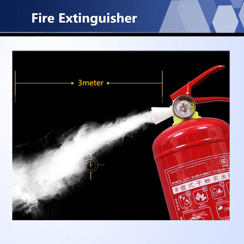 High Quality ABC Dry Powder Fire Extinguisher for Fire Fighting