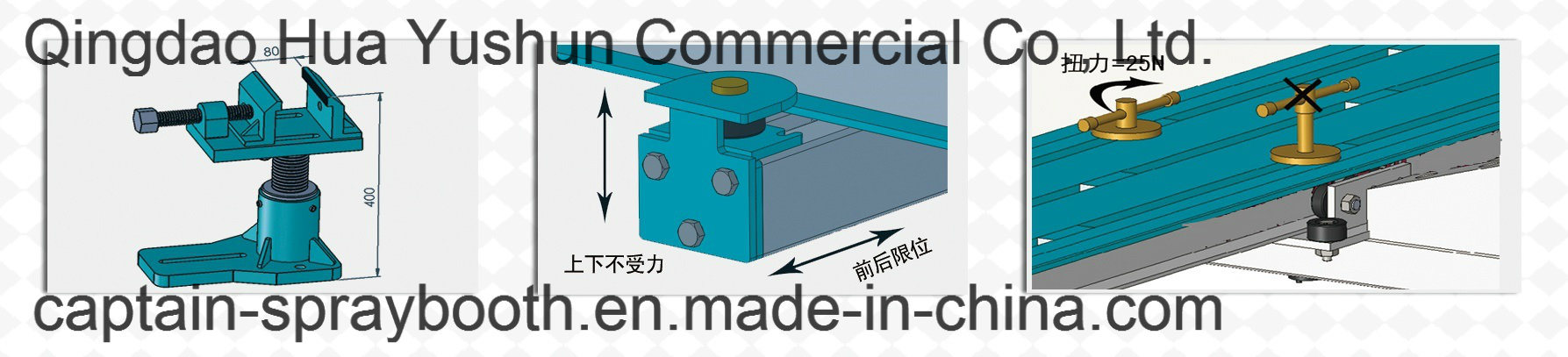 China Top Suppilier Car Bench Body Repair Alignment Bench