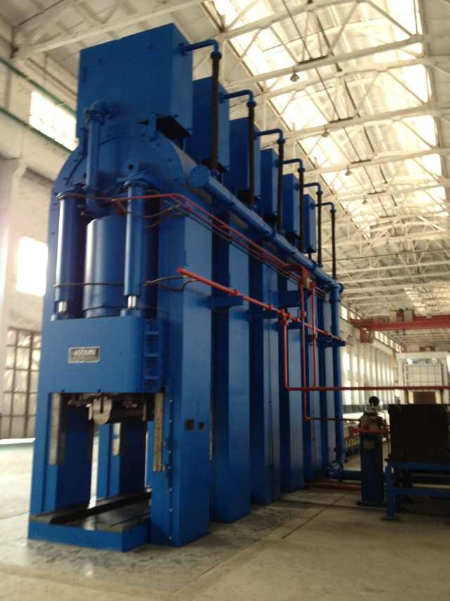 Hydraulic Press for Pressing Thick Steel Plates