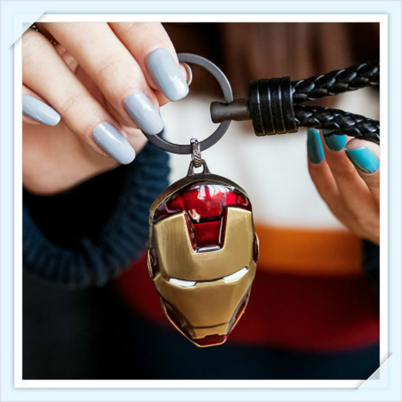 New Design Unique Super Man Logo Key Chain