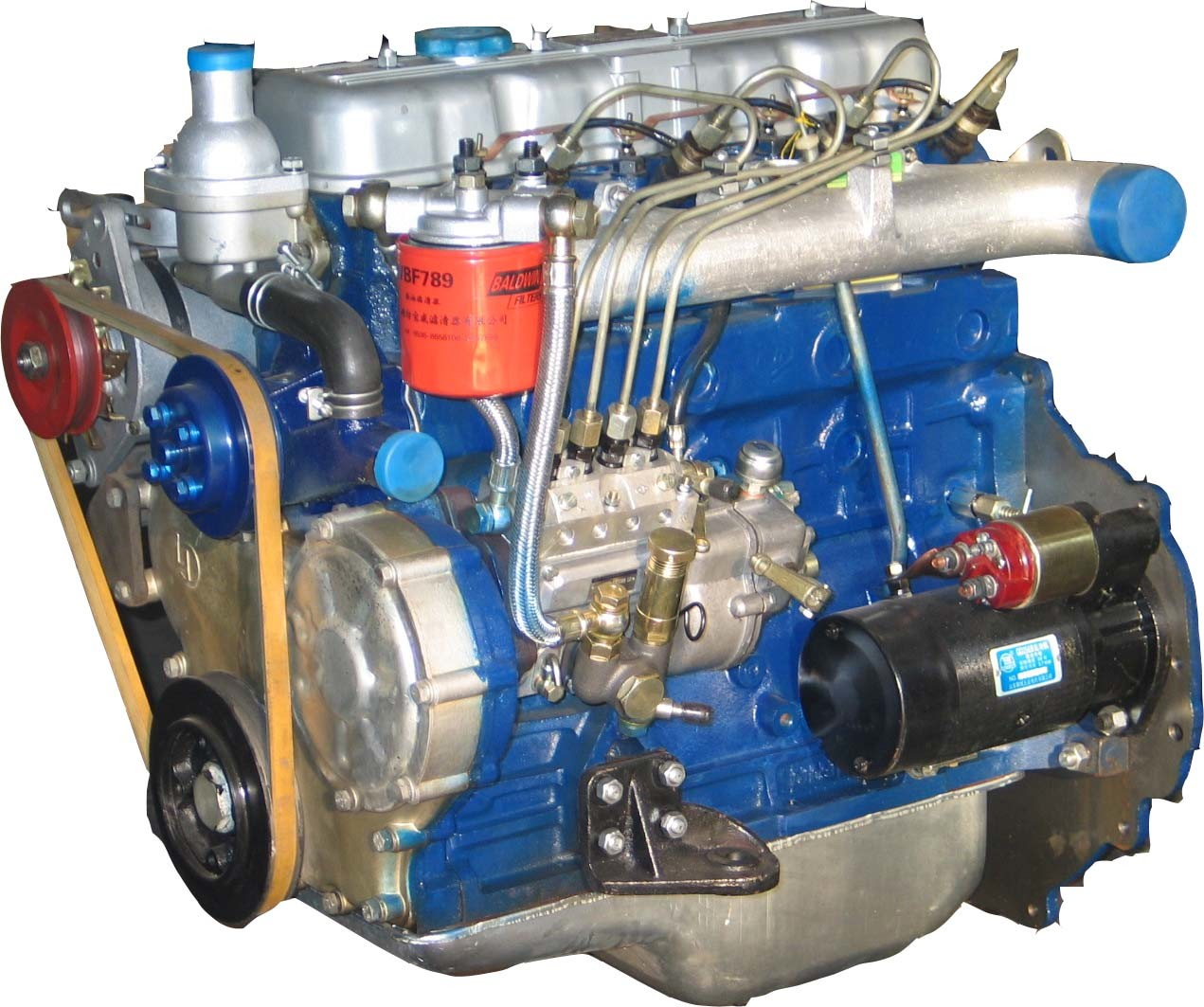 Diesel Engines for Harvest Machinery