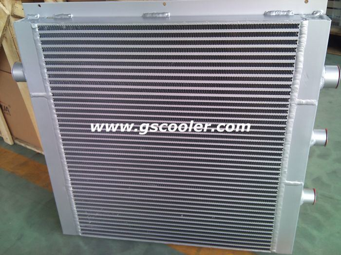 Aluminium Plate Fin Heat Exchanger for Compressor