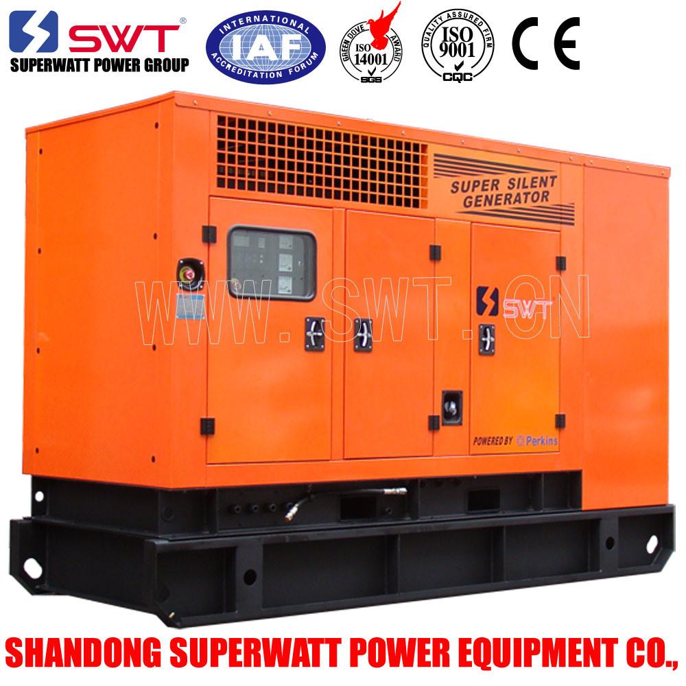 10kVA-2500kVA Super Silent Type Diesel Generator Set with Ce/ISO Certificaton (Perkins Power)