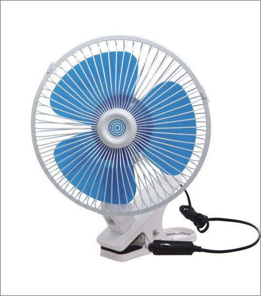 Win-106 8′′ Oscillating with Clip Car Fan