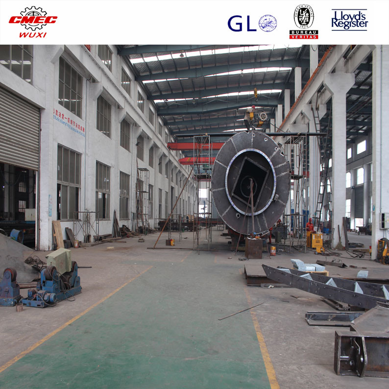 Heavy Steel Structures Fabrication Conveyor Cylinder