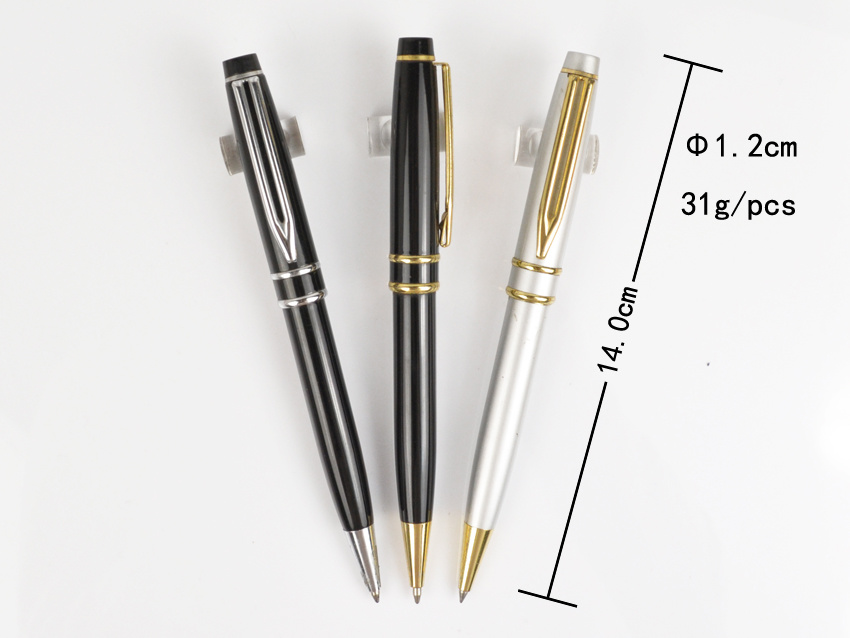 Metal Pen Logo Laser as 10 Year Business Anniversary Gifts