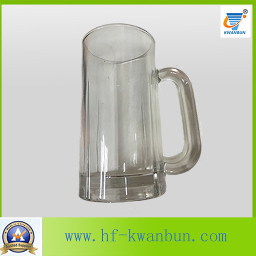 Glass Cup Colored Bottom Beer Mug Kb-Hn03157