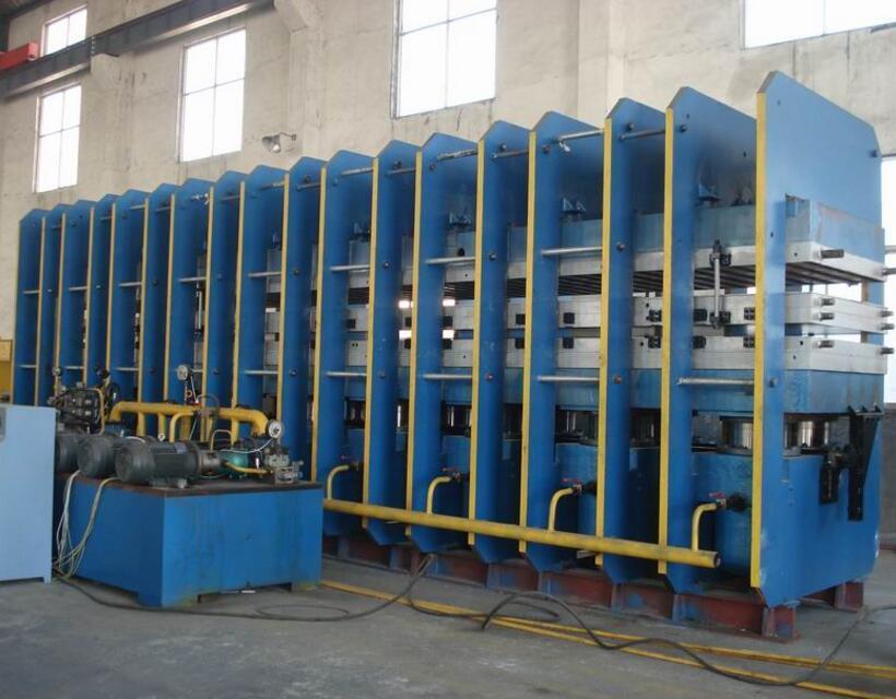 Conveyor Belt Vulcanizing Press Rubber Machine Vulcanizer Machine