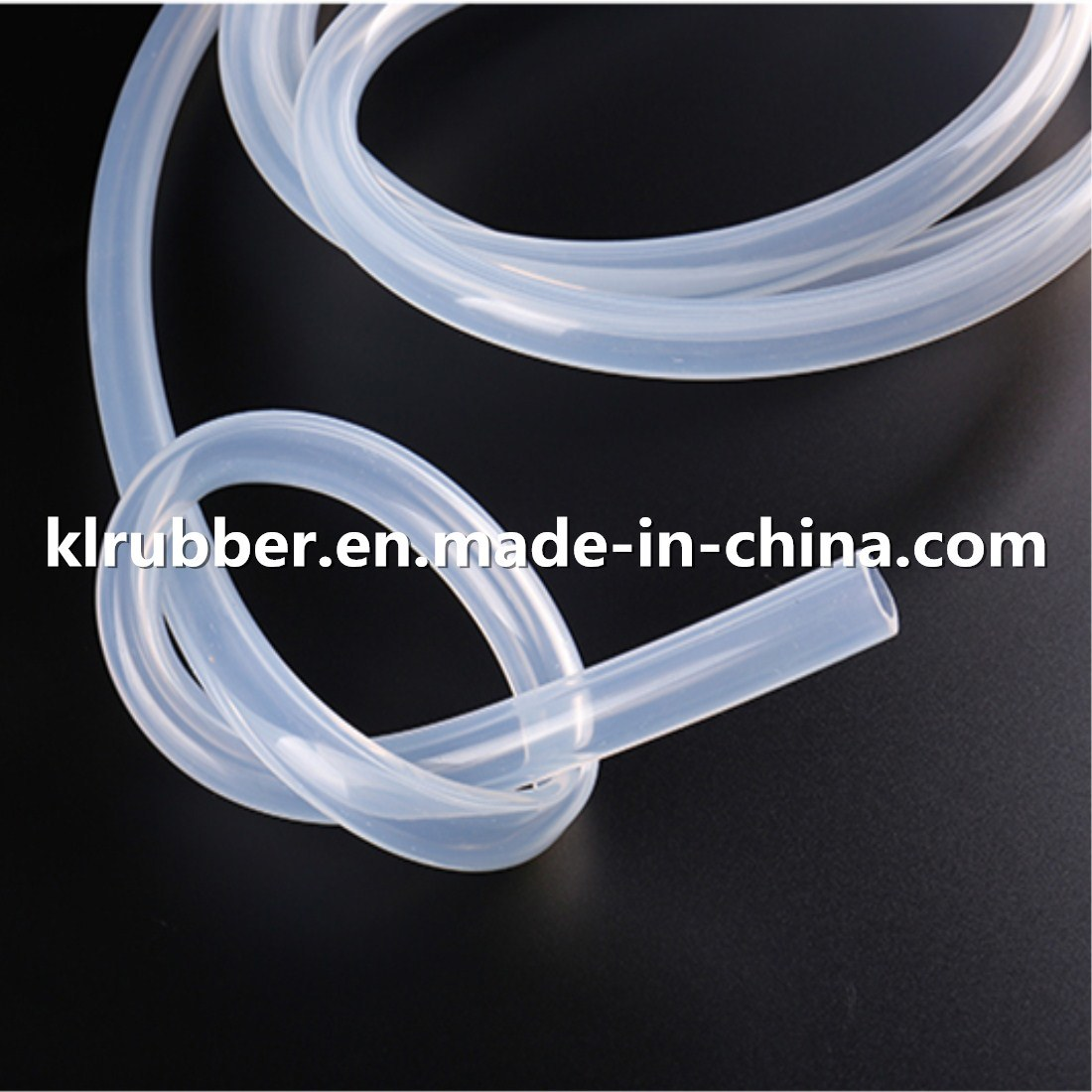 Food Grade Platinum Cured Transparent Silicone Rubber Hose for Coffee Machine