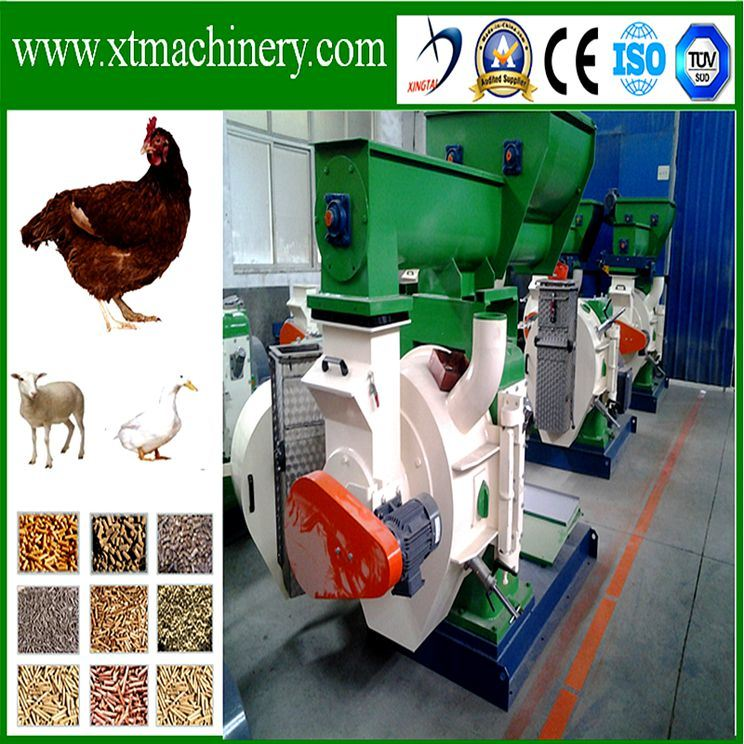 Low Investment, Good Price Animal Feed Pellet Granulator