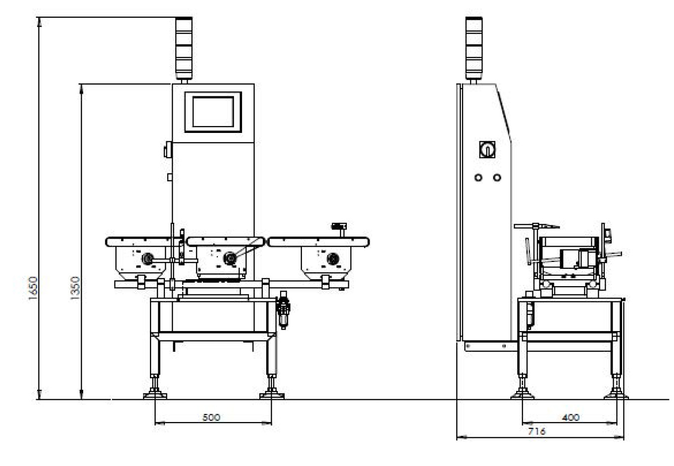 Checkweigher Hcws3020