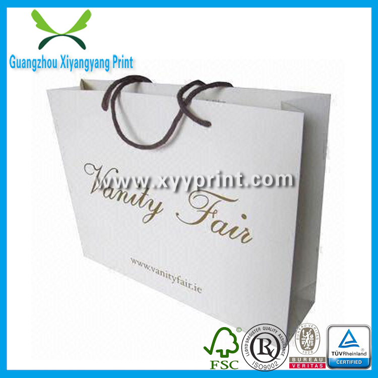 Custom Promotion Paper Gift Bag with Logo Print