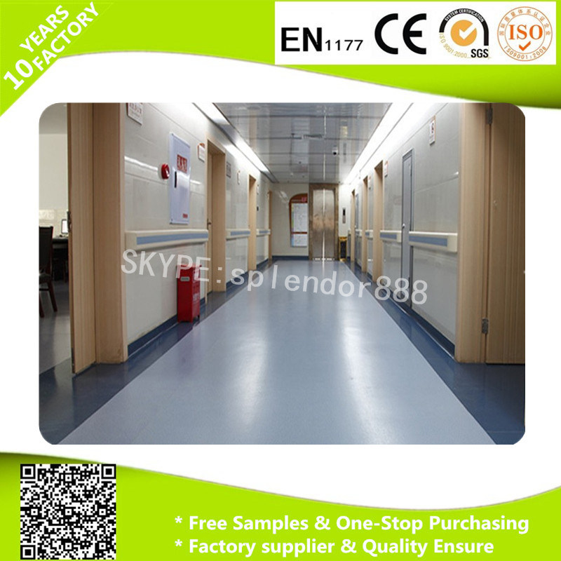 Durable Anti Slip Commercial PVC Vinyl Flooring Rolls