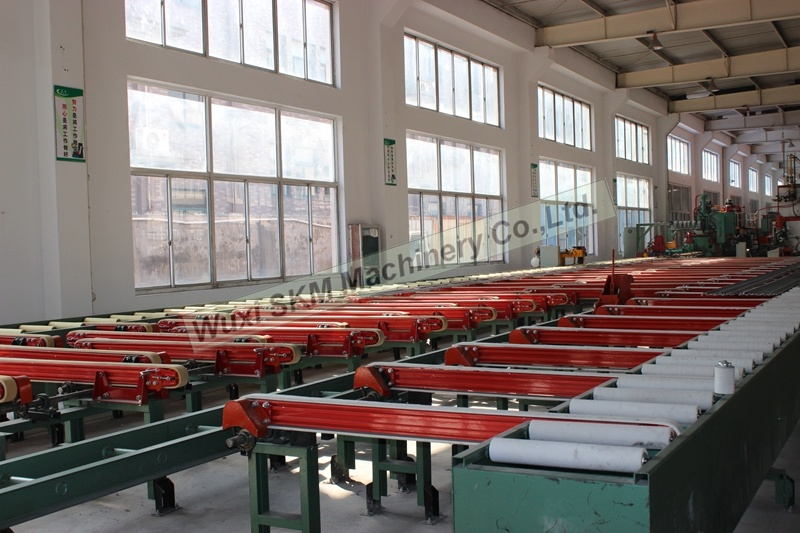 2017 Efficient Aluminium Handling System/ Aluminium Cooling Table / Extrusion Table with New Design