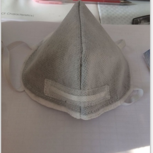 Pm 2.5 Masks Made by Activated Carbon