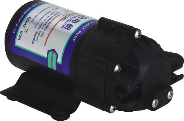 Lanshan 50gpd Diaphragm RO Pump 0 Inlet Pressure Smaller Water Pump