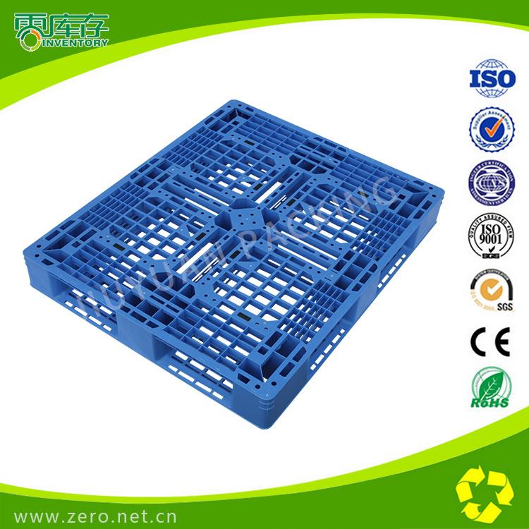 100% Virgin PP Blue Nine-Foot Grid Pallet