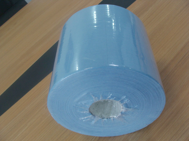 Spunlace Nonwoven Rolls Cleaning Wiper (LTLD602)