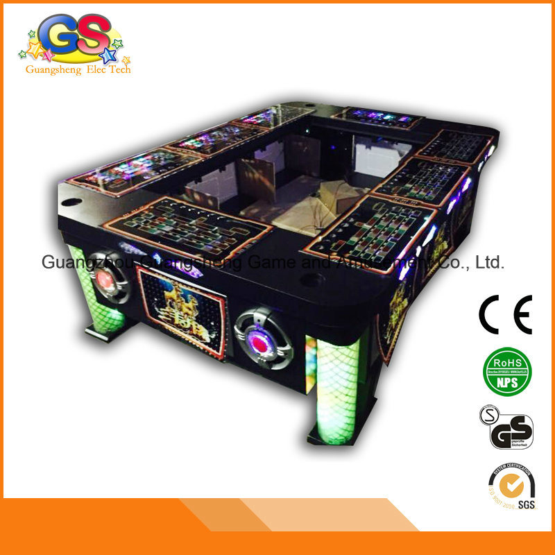 Coin Operated Fish Shooting Arcade Electric Fishing Game Machine