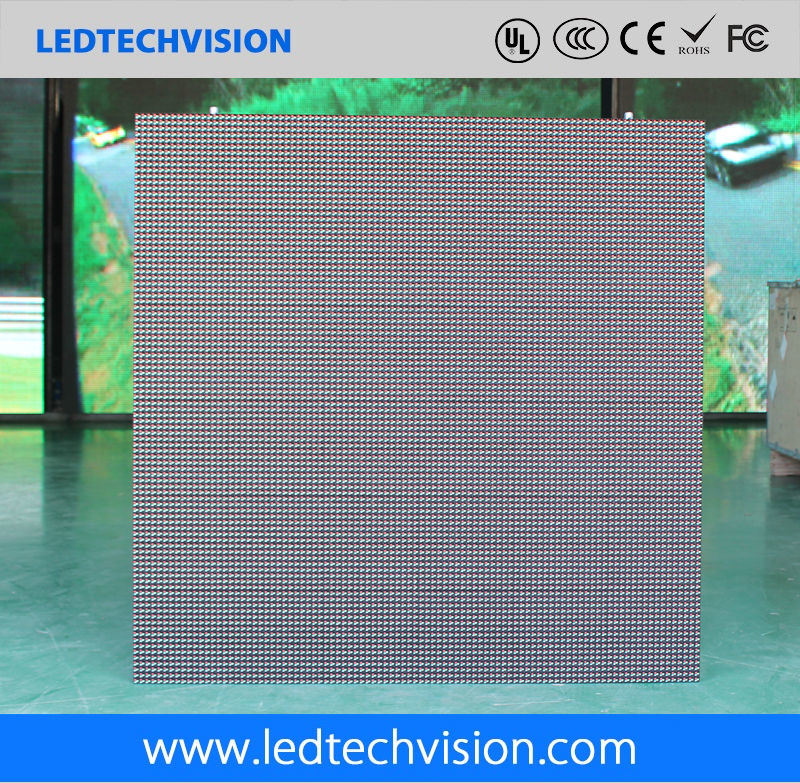 P10mm LED Display Panel for Advertising Pillar Support