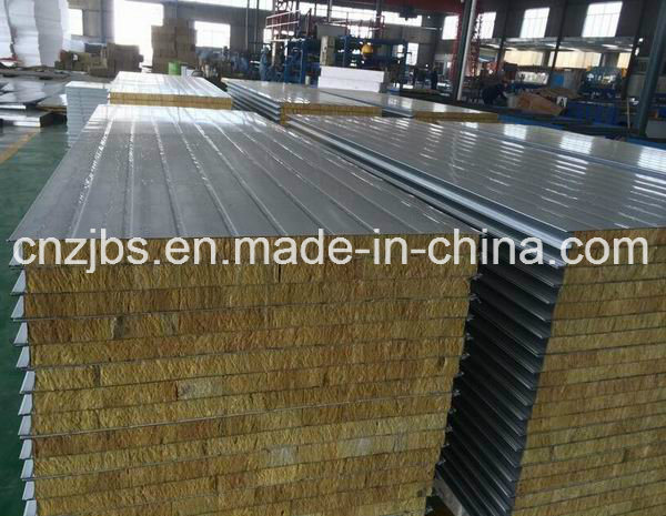 Composited Rock Wool Wall Sandwich Panel