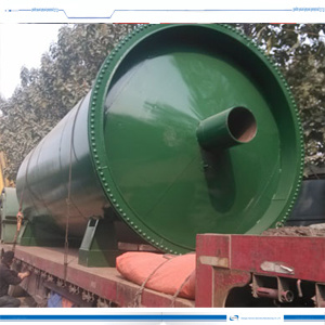15ton Tire Scrap to Envergy Refining Plant by Pyrolysis Equipment