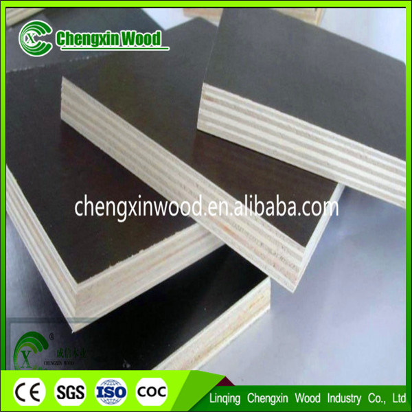 Poplar Core, WBP Glue, Film Faced Plywood/Shuttering Plywood Manufacturer