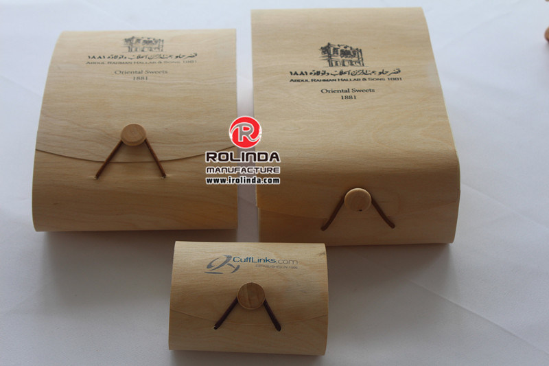 Round Wood Poplar Boxes for Food Soap Cheese