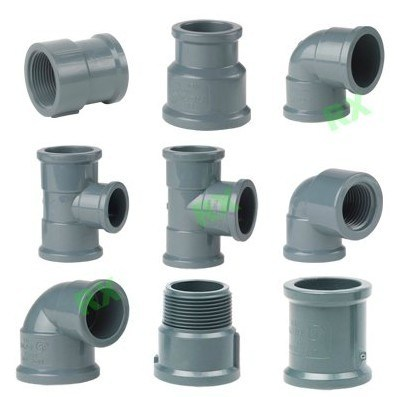China water pipe fitting china plastic fittings pvc for Plastic plumbing pipes