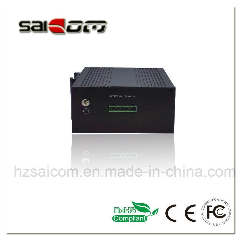 Saicom 2Gig optical 4 RJ45 Industry Fiber Network Switch
