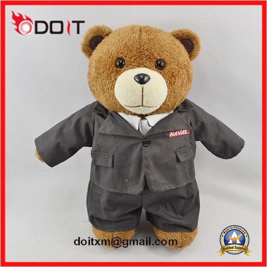 Doctor Teddy Bear Stuffed Plush Doctor Uniform Teddy Bear